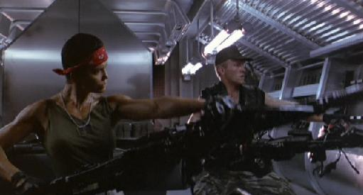 Aliens Guns