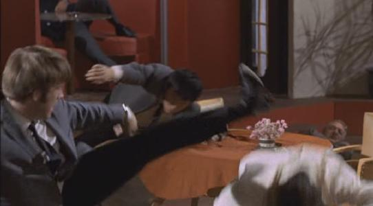 Roundhouse kick... Chuck Norris!