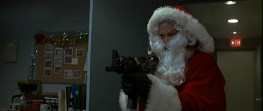 Santa Machine Gun
