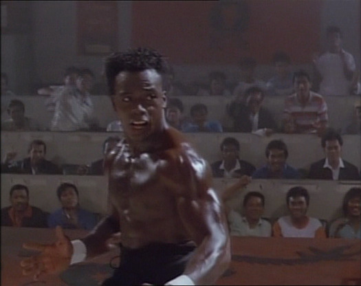 Billy Blanks: In and out of this flick in DOUBLE-TIME!