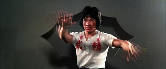 Jackie Chan's Fists Of Fury aren't quite as fast...