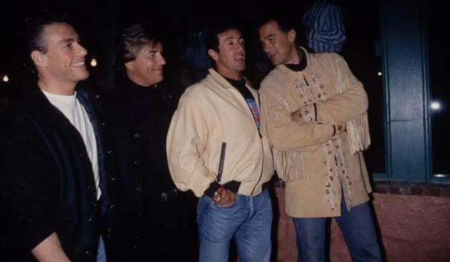 Van Damme, Sly & Seagal