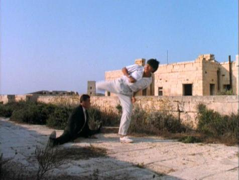 Unfortunately for Van Damme, Sho Was Too Short To Kick High