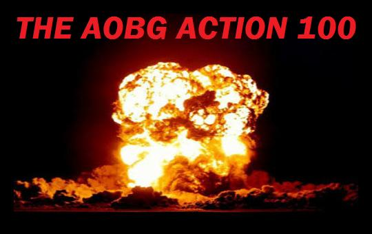 The AOBG Action 101 Stock Photo
