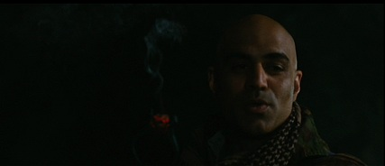 This Middle-Eastern villain is different because he's bald